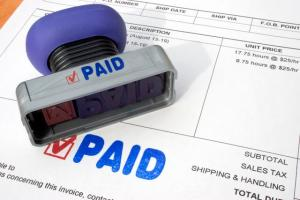 Invoices paid faster and more regular